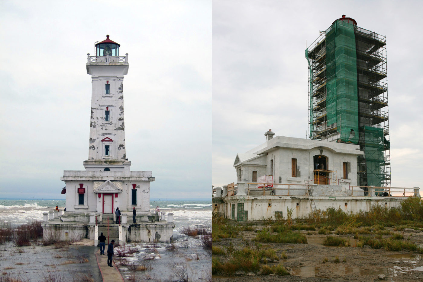Point Abino Lighthouse - Full