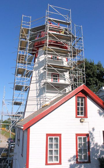 Phoenix Begins Restoration Work to Kincardine Lighthouse